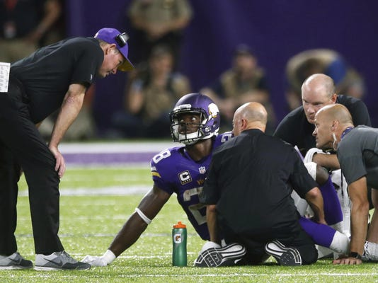 Adrian Peterson, Mike Zimmer