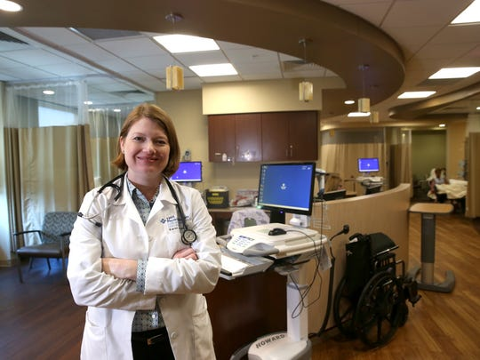 Dr. Karen Russell, a cancer and hematology specialist