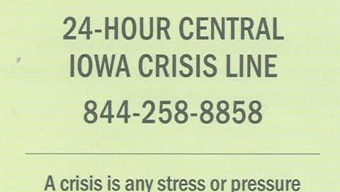 Warren County launched a 24-hour mental health crisis line that's free for residents on March 26, 2018.