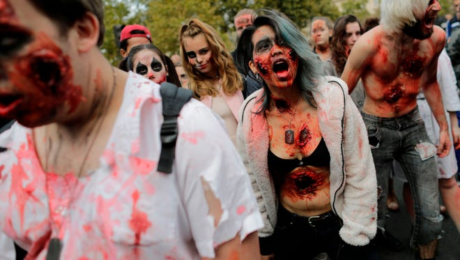 More Paris 'zombies'....
