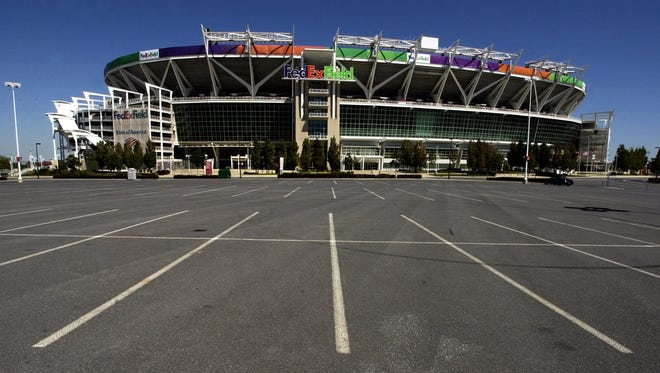 FedEx field bough the naming rights to the Redskins' stadium in November 1999.