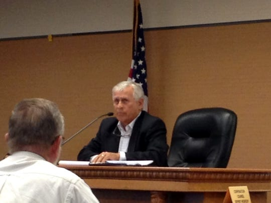 Kewaunee County Board Chairman Ron Heuer called an emergency meeting in order to discuss the town of Carlton's property assessment of the Kewaunee nuclear plant before an Aug. 15 state deadline.