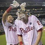 Asche's walk-off HR lifts the Phillies to a victory