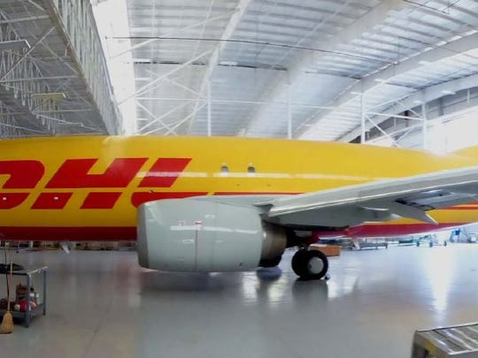 The DHL Express Super Hub at Cincinnati/Northern Kentucky International Airport has been expanding the past several years.