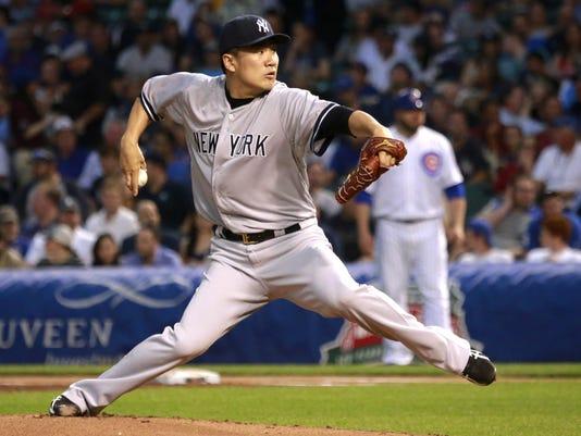 Yankees Cubs Baseball (2)