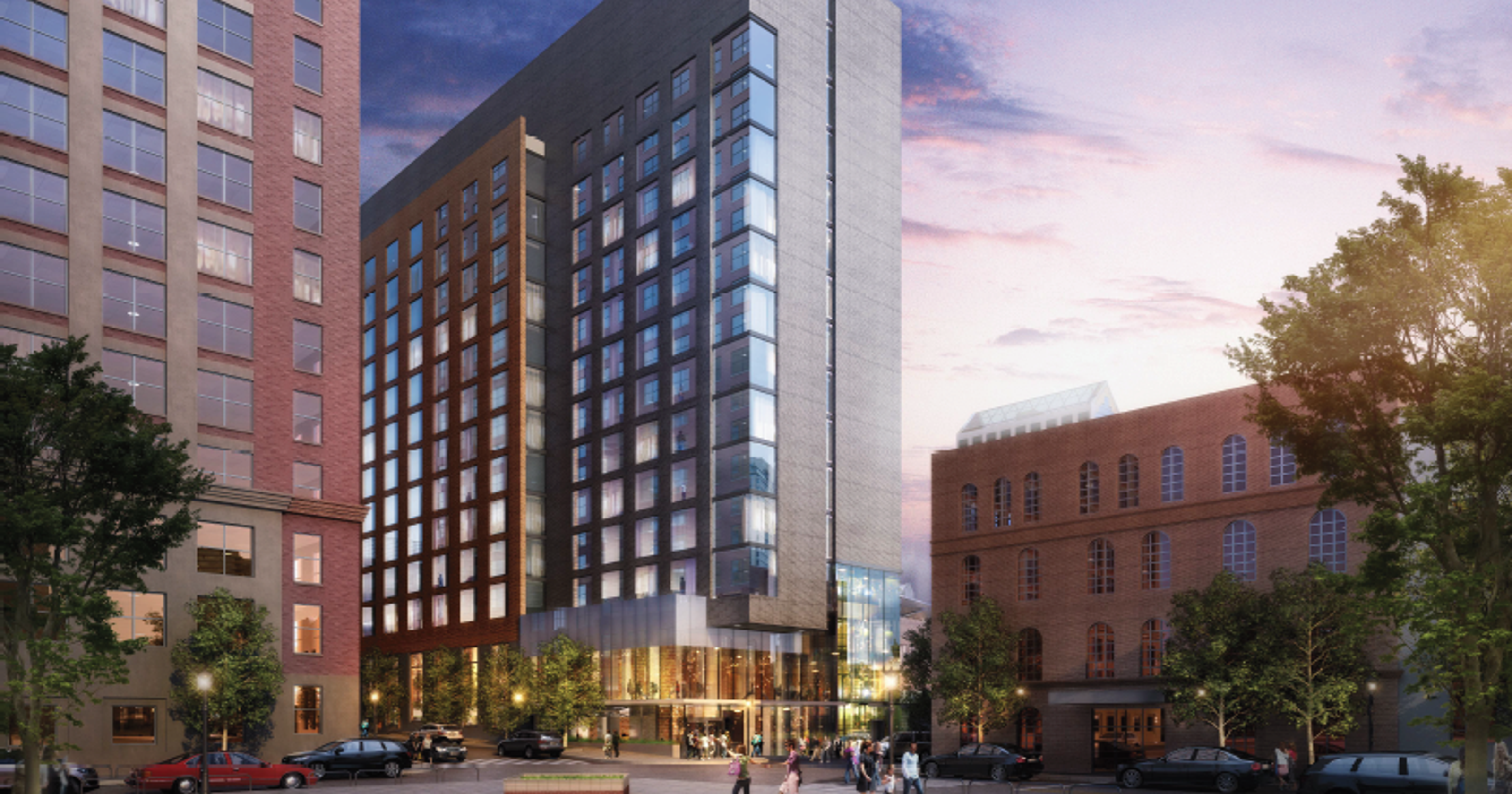 Here S What The New 90m Dual Hotel Project On Whiskey Row Will Look Like