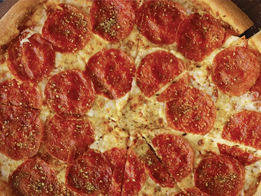 Get a dual layer pepperoni pizza for $10 Papa John's
