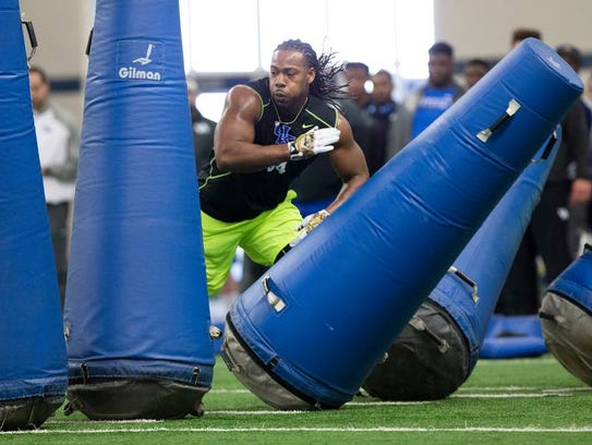 A projected Day 2 pick out of Kentucky, Za'Darius Smith
