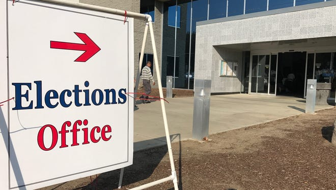 Tulare County elections' office.