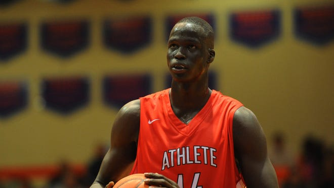 Athlete Institute Prep forward Thon Maker plans to visit IU.