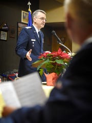 Lt. Col. Kevin Berry shares the history of the Civil