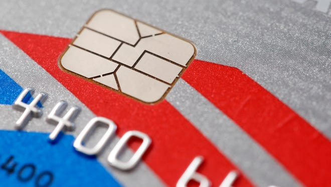 U.S. banks are in the process of replacing tens of millions of old magnetic strip credit and debit cards with new cards that are equipped with computer chips that store account data more securely.