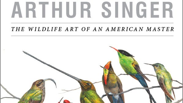 RIT Press has published a book on the bird art of Arthur Singer.
