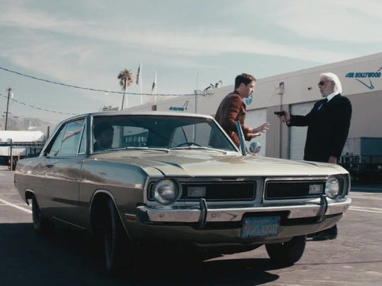 "Donald Sutherland on far right in a scene from ""Point and Shoot"" directed by  Thomas Leisten Schneider and screened at Palm Springs International ShortFest 2017."