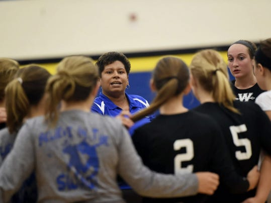 Waynesboro's Kim Saunders, who was the Public Opinion Coach of the Year two seasons ago, is back to lead the Maidens in 2015. Waynesboro is the defending Mid Penn Capital Division champion, and is hoping for similar results this year.