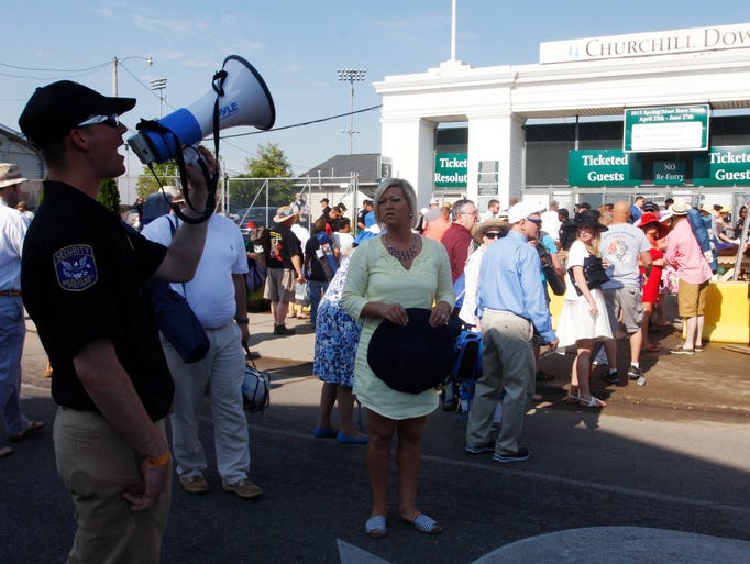 Gallery Security At Churchill Downs