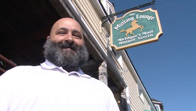 Tony Brodeur, co-owner of the Mustang Lounge, purchased the iconic bar from his grandfather after graduating from college.
