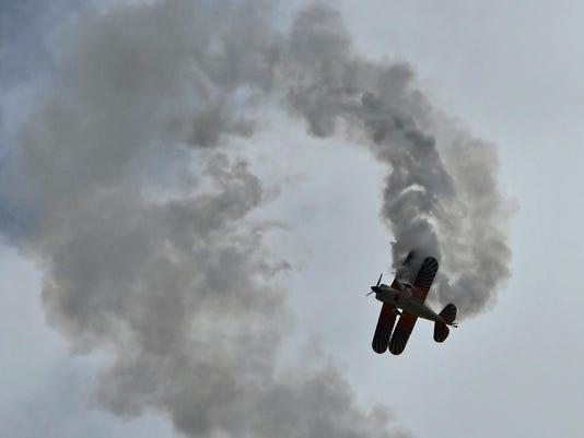 Sunday at the TICO Warbird Air Show