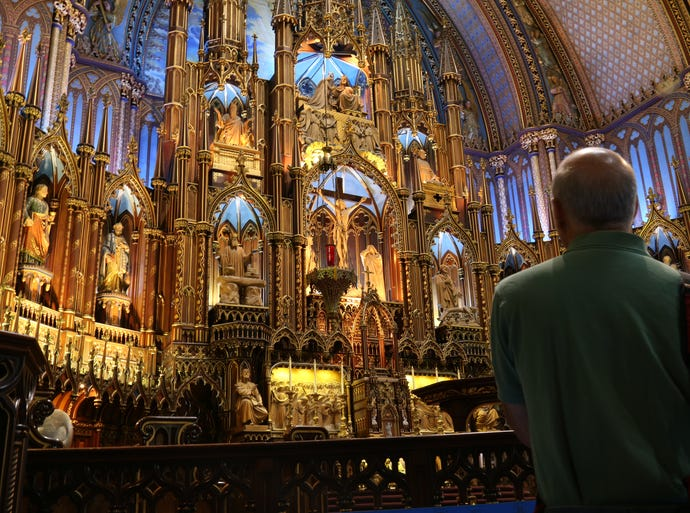 "Notre-Dame Basilica of Montreal is considered to be one of the ""crown jewels"" of Quebec's rich religious heritage."