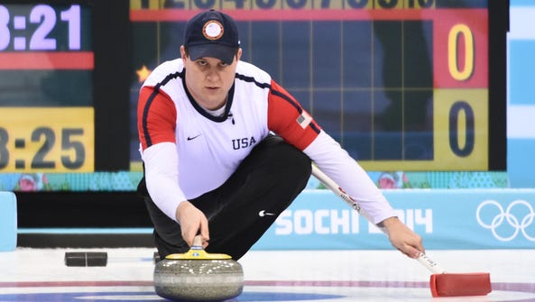 Curling champion John Shuster would be ice cold in