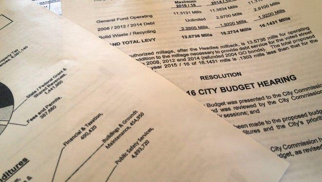 Budget photo illustration