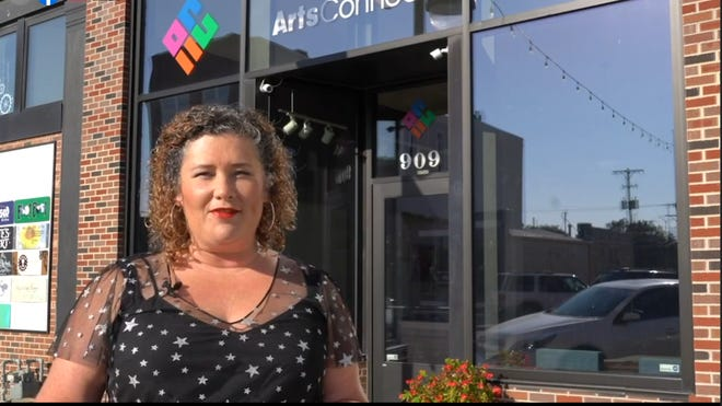 ArtsConnect executive director Sarah Fizell virtually presents the organization's 2020 Arty Awards. In an otherwise difficult year, Fizell said, it was that much more important to celebrate the value arts bring to the Topeka community.