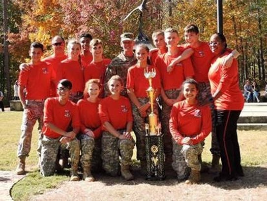 The North Fort Myers High School JROTC Mixed Raider