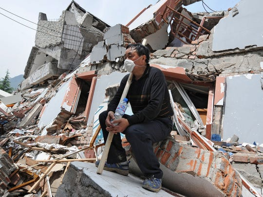 May 12, 2008: 87,000 dead in China. Earthquake survivor