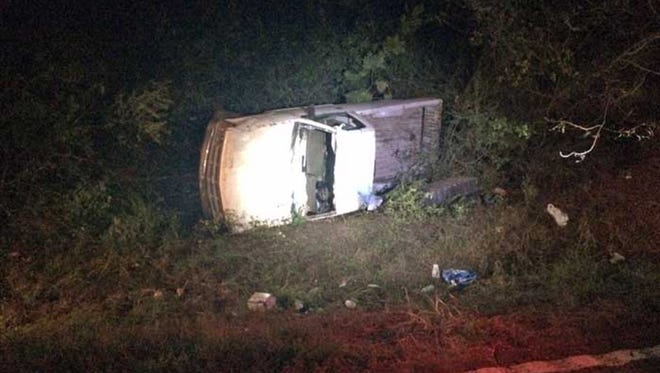 A fatal vehicle wreck in Hinds County.