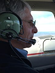 Dennis Phalen, a retired pilot with 30 years of flying