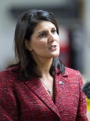 Former South Carolina Gov. Nikki Haley