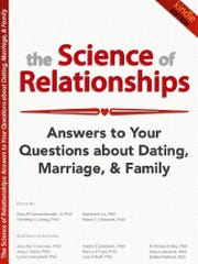 """Cover of """"The Science of Relationships,"""" a book edited by Monmouth University professor Gary Lewandowski"""
