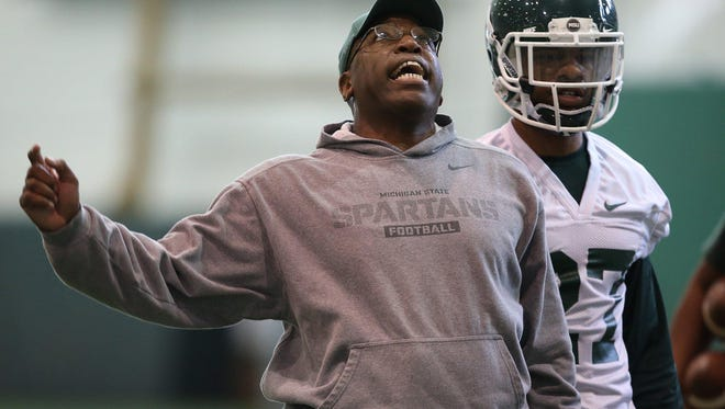 "Harlon Barnett said he became Michigan State's secondary coach because he speaks ""Sabanism."" He played for MSU in the 1980s when Nick Saban was an MSU assistant."