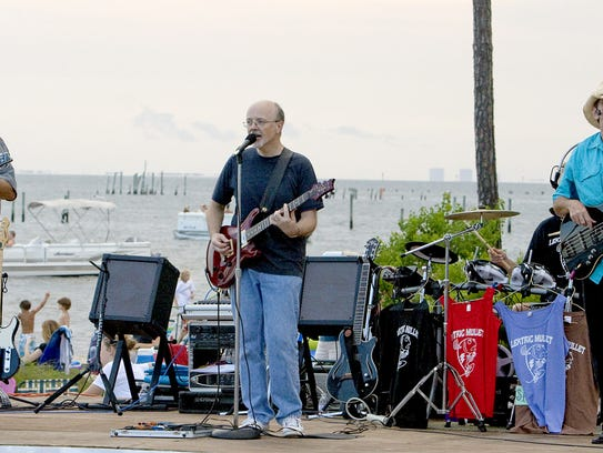 Lektric Mullet will be performing Sunday at the Sandshaker Lounge on Pensacola Beach.