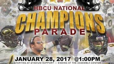 GSU to host HBCU National Champions Parade on January 28.