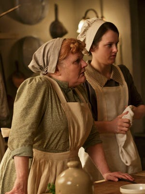 "Lesley Nicol and Sophie McShera are part of the Masterpiece TV series ""Downton Abbey,"" which concludes on March 6."