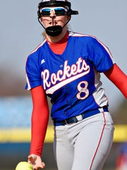 Spring Grove's Hailey Kessinger was named the York-Adams League Division I Pitcher of the Year.