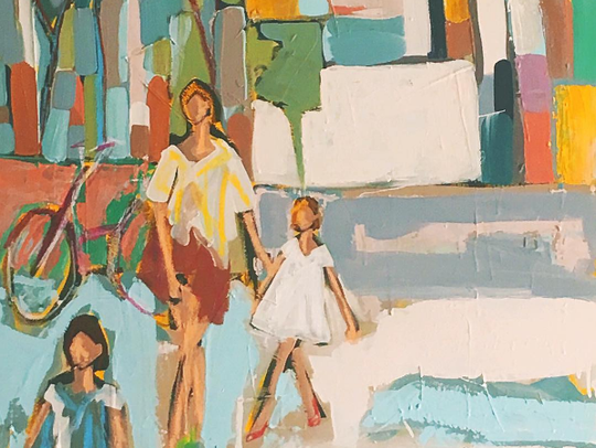 Emily Ozier is a Nashville-based artist known for her