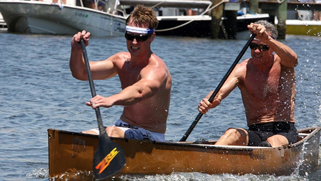 The 39th AnnualGreat Dock Canoe Race is Saturday, May 9.