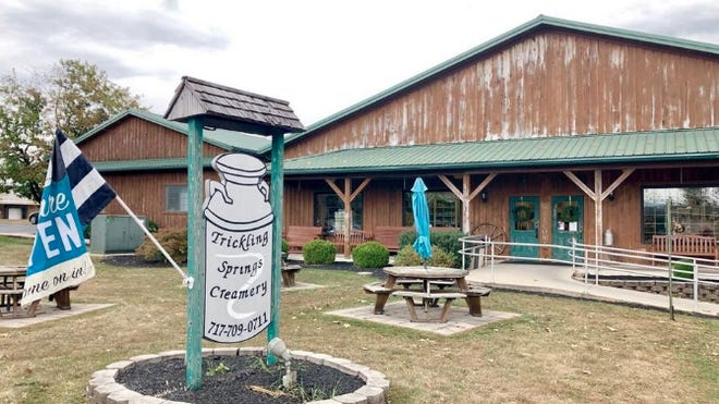 Trickling Springs Creamery in Chambersburg, Pa., is scheduled to reopen in August under new ownership. JOHN IRWIN/ THE RECORD HERALD