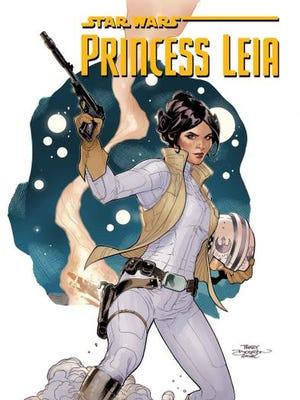 "Cover for the comic book ""Star Wars: Princess Leia No. 1."""
