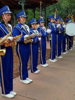 The Nordhoff High School pep band will play during the Ojai Tennis Tournament at Libbey Park on Saturday.
