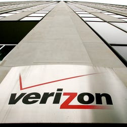 Signage at a Verizon Wireless retail store at Downtown Crossing in Boston. Verizon, the nation's largest wireless provider, will stop offering phones at discounted prices when customers sign two-year service contracts, taking effect Aug. 13.