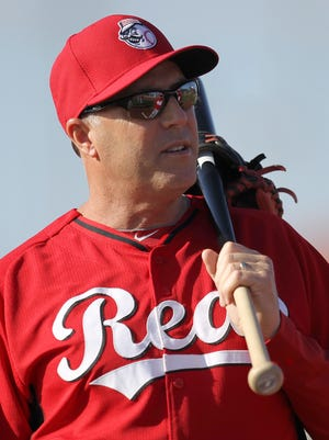 Reds manager Bryan Price during spring training in Goodyear, Ariz., in 2015.
