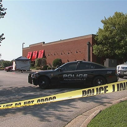 Police are investigating a fatal shooting at a Fayetteville