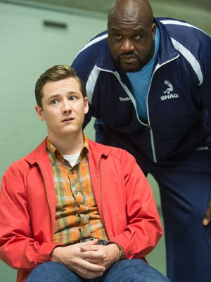 Lewis Pullman stars as  Highston Liggets and Shaquille O'Neal is a guest in Amazon's original comedy pilot 'Highston,' from executive producer Sacha Baron Cohen.