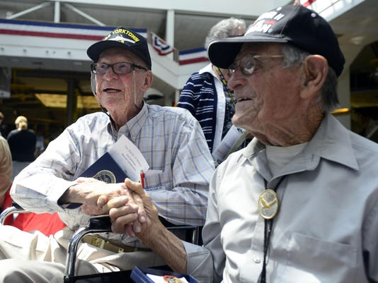 Battle of Midway survivors honored during ceremony at Pensacola NAS