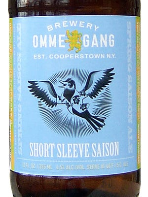 Short Sleeve Saison, from Brewery Ommegang in Cooperstown, N.Y., is 4.5% ABV.