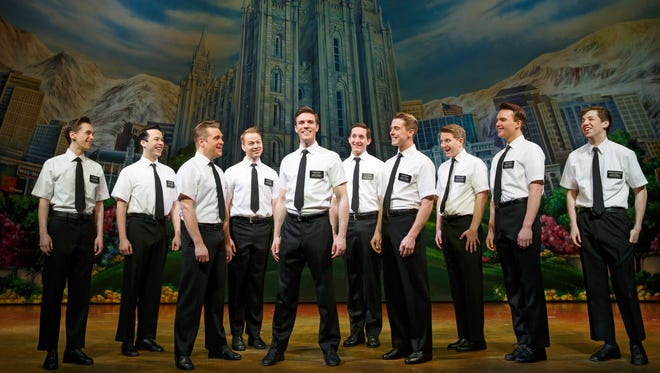 """""""The Book of Mormon"""" won nine Tony Awards, including best musical."""