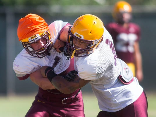 ASU Friday practice